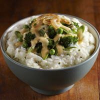 Vegetable Medley Mashed Potato Bowl