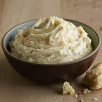 Roasted Garlic & Parmesan Redskin Mashed