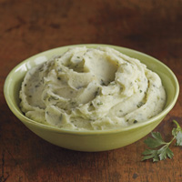 Butter & Parsley Mashed Potatoes