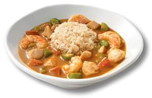 Shrimp and Andouille Gumbo Soup