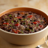 Garlic Black Bean Soup