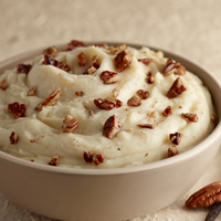 Vanilla Pecan Mashed Potatoes