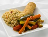 Vegetable Stir Fry with Asian Stir Fried Rice