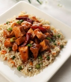 General Tso's Chicken with Asian Stir Fried Rice