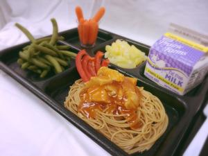Mandarin Orange Chicken with Asian Noodles