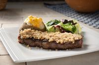 Caesar Encrusted Steak