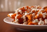 Sweet Potato Fries with Steakhouse Blue Cheese
