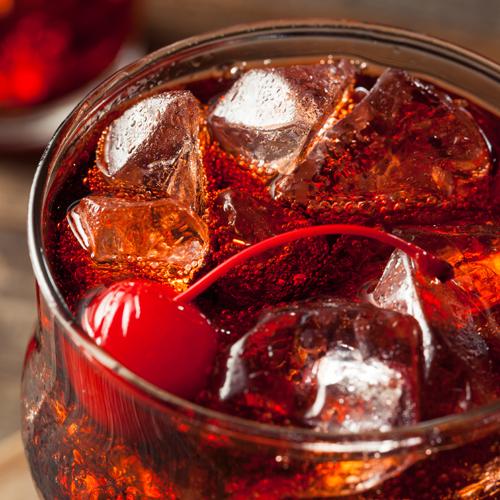Cherry Coke Soft Serve