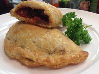 Mini Beef Calzone with Italian Sauce