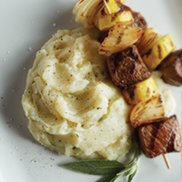 Brown Butter & Sage Mashed Potatoes