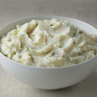 Goat Cheese, Dill & Shallot Mashed