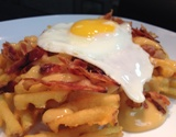 Bacon Egg & Rarebit Cheese Fries