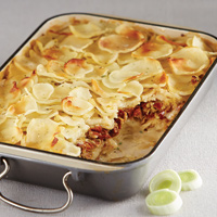 B.L.T. Scalloped Potatoes