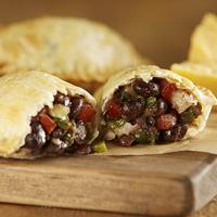 Black Bean & Mushroom Empanadas