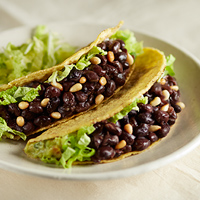 Black Bean & Avocado Tacos