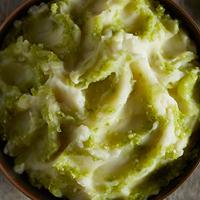 Tomatillo Salsa Mashed Potatoes