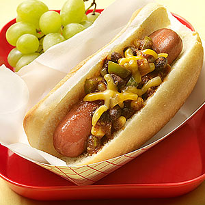 Calico Chili Cheese Dog
