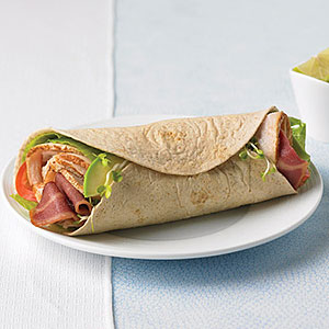 California Club Turkey Wrap