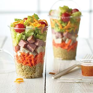 Quinoa Cobb Shaker Salad