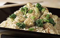 Chicken Stir Fry with Broccoli and Rice