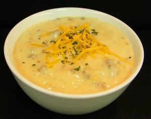 Cheeseburger Chowder